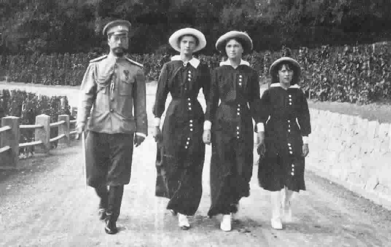 николай 2 фото с семьей